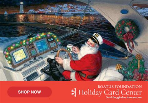 boat us foundation christmas cards boatus foundation for boating safety and clean water