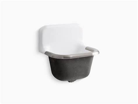 Service Sinks by Bannon 22 1 4 Quot X 18 1 4 Quot Wall Mounted Or P Trap Mounted