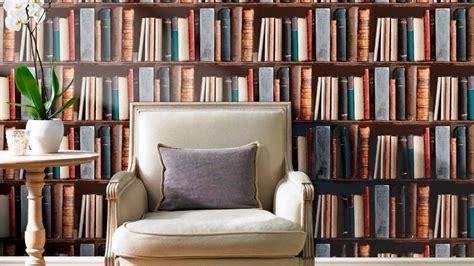 bookshelves wallpaper library bookshelves wallpaper design creative ideas