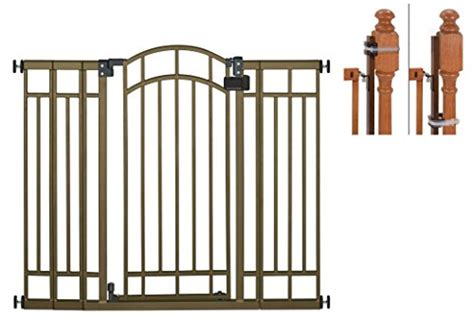 summer infant dual banister gate summer infant multi use deco extra tall walk thru gate