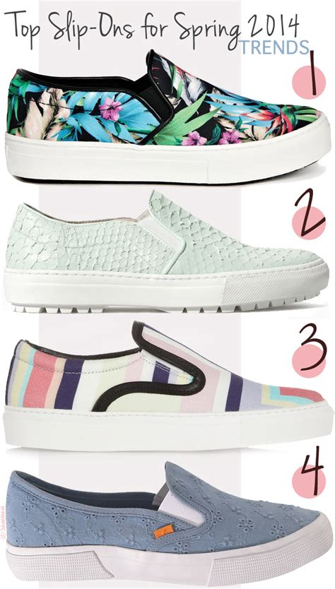 slip on sneakers trend style trending shoes slip on sneakers for 2014