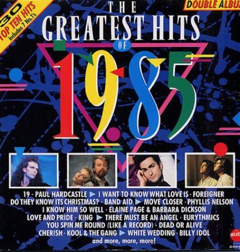 Top Hits Koreanpop Indo Pop various pop the greatest hits of 1985 uk 2 lp vinyl record
