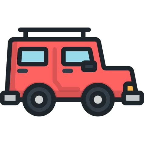 Icon Jeeps Jeep Free Transport Icons