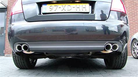 Audi A4 Sportauspuff by Audi A4 3 0i Cabrio Sportauspuff Ma 223 Geschneidert Www