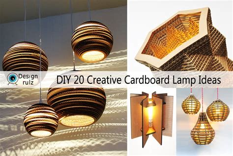 Ideas For Livingroom by Diy 20 Creative Cardboard Lamp Ideas