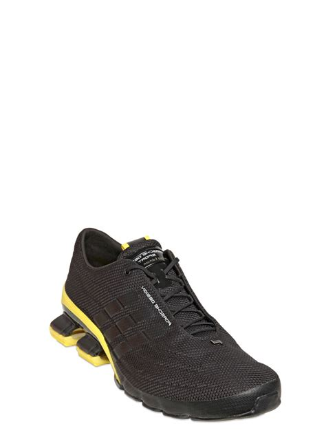 porsche shoes lyst porsche design bounce s4 sneakers in black for men