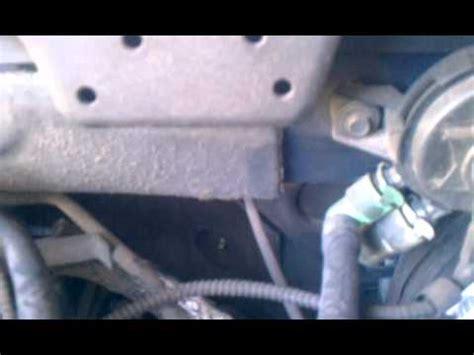 ford expedition  vacuum hose repair youtube