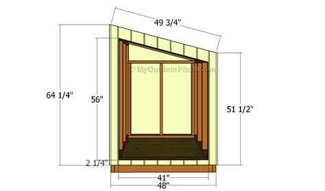generator shed door plans free outdoor plans diy shed