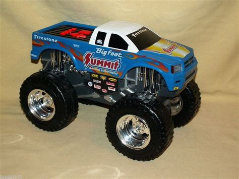 bigfoot monster truck for sale road rippers toy state bigfoot monster truck batt op