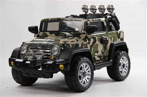 Army Jeep Camouflage Army Jeep 12v Electric Ride On Car