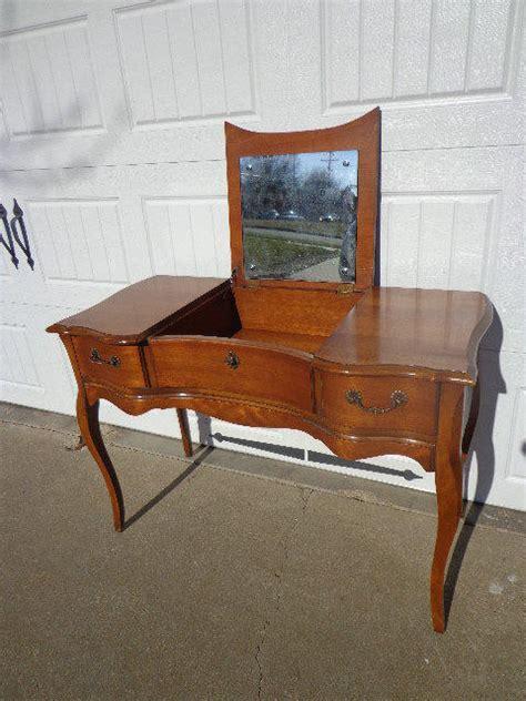 writing desk as vanity vintage huntley provincial from dejavudecors
