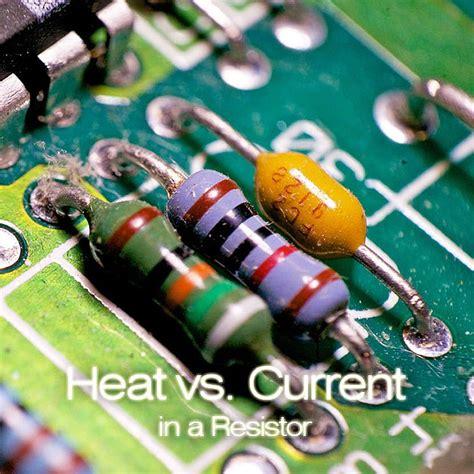 resistor heat source power consumed by a resistor dissipates as heat and not returned to the generation source 28