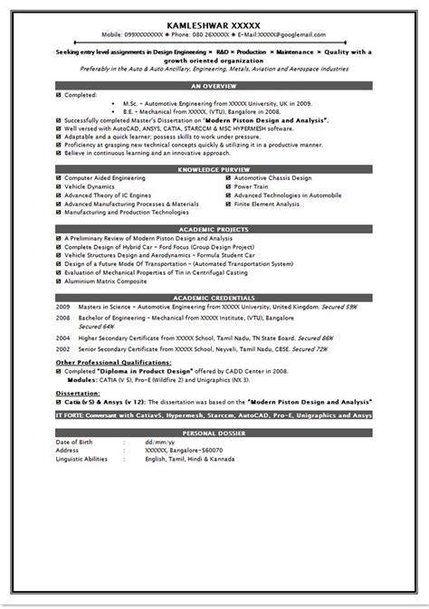 impressive resume formats 30 best images about resume on