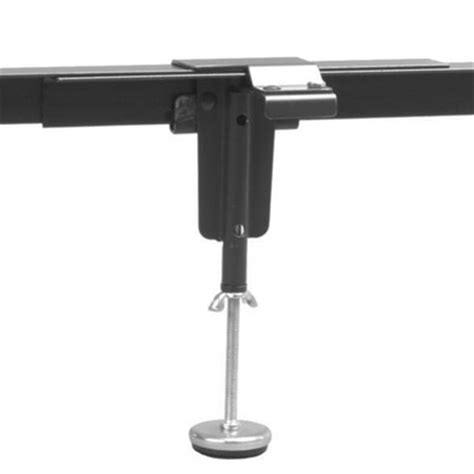 bed frame support legs 11 quot adjustable center supports with legs by leggett platt