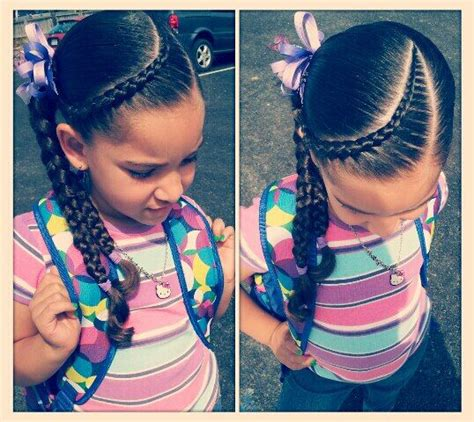 kids plaits little girl hairstyle hair little girl scalp braid