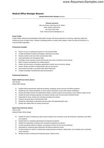 Medical Office Manager Sample Resume manager resume for a job resume of your resume 2