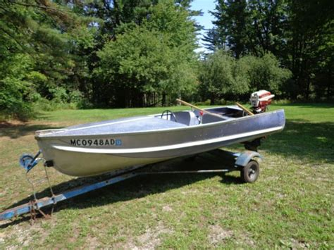 old aluminum boats old aluminum boats around 1950 bing images