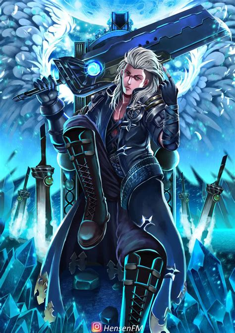wallpaper mobile legend alucard alucard child of the fall hensenfm by hensenfm
