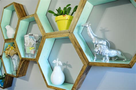 diy honeycomb shelves diy honeycomb shelves loving here