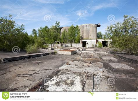 abandoned site abandoned industrial site royalty free stock photo image