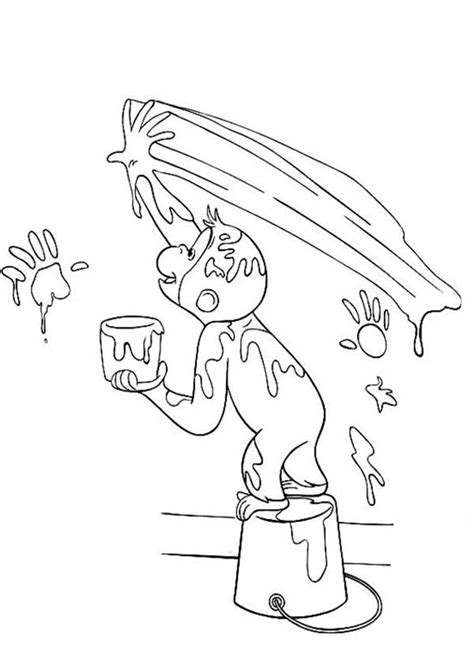 curious george coloring pages halloween curious george halloween coloring pages kids coloring