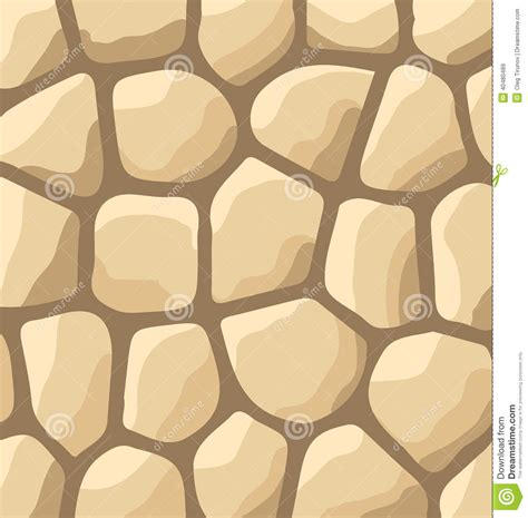 stone wall pattern illustrator texture of stones stone wall background stock vector