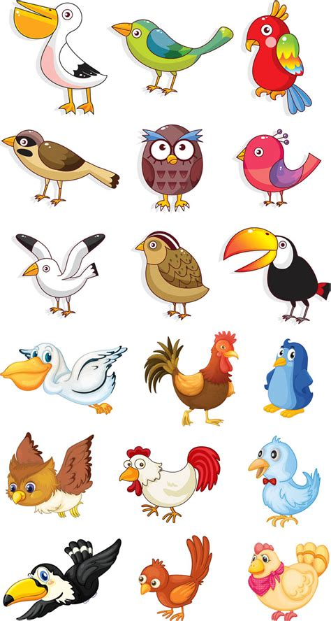 birds clipart birds vector graphics