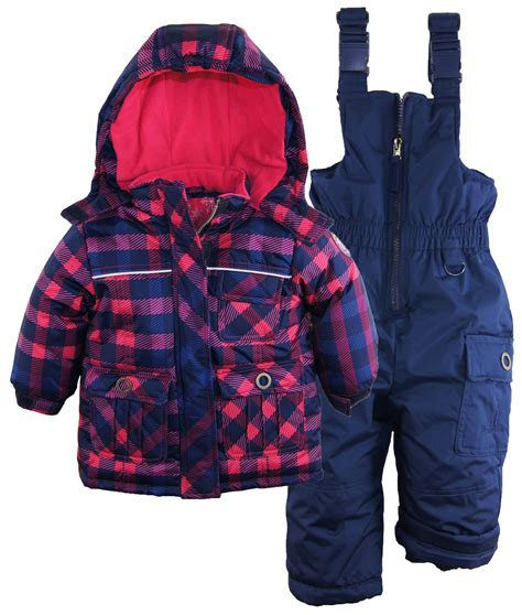 Rugged Toddler Jacket by Rugged Baby Classic Check Snowboard Jacket 2pc
