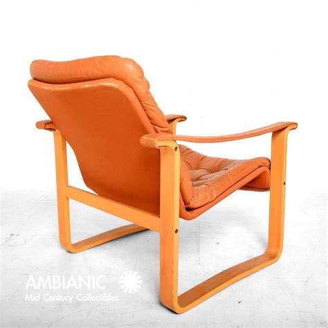 Ab Furniture by Finland Leather Armchair Mid Century Modern Oy Bj