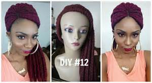 cornrow hair to buy different colour diy 12 yarn ghana braid cornrow wig part 1 youtube