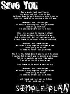 meaningful simple plan lyrics - Google Search | Simple