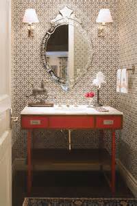 Best Wallpaper For Powder Room Pretty Powder Rooms Andrea Schumacher Interior Design