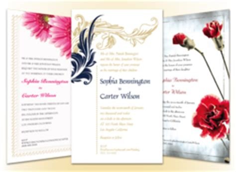 Alabama Wedding Invitations Printed by Vendors In New York And Alabama To Be Featured On The