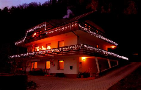 fine stay apartment is now lit up in christmas lights