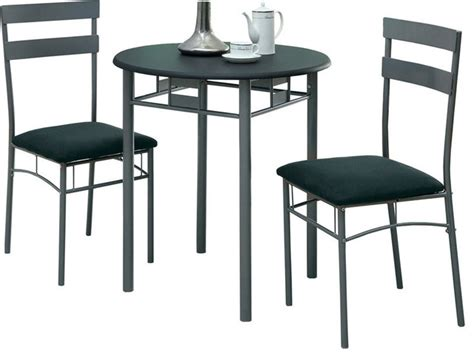 Indoor Bistro Table Set 3 Pc Bistro Set Transitional Indoor Pub And Bistro Sets By Tscshops