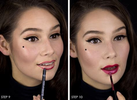 10 Step Tutorial For Creating A Femme Fatale Look by Femme Fatale Makeup Mugeek Vidalondon