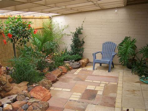 Patio In by Outdoor Patio Firepit For Backyard Landscaping Ideas