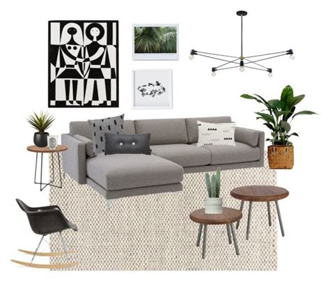Jungle Living Room by Quot Modern Jungle Living Room Quot By Erindollar Liked On