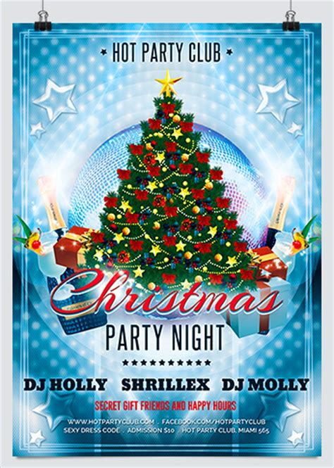 Christmas Caroling Party Flyer Hollymolly Caroling Flyer Template