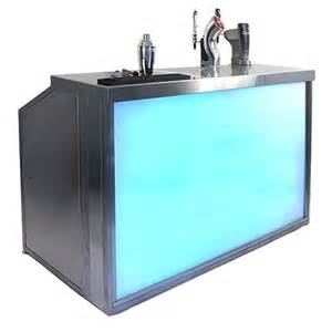 Bar Portable Outdoor Folding Portable Led Bar With Wheels