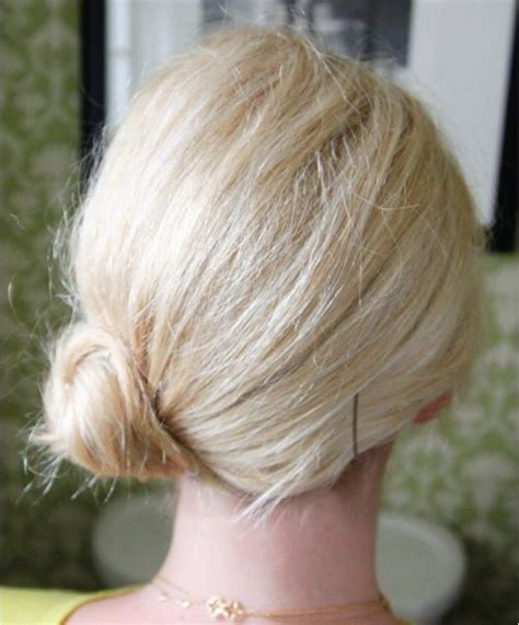 easy messy buns for shoulder length hair 20 easy and pretty updo hairstyles for mid length hair