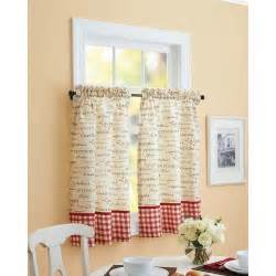 Cafe Style Kitchen Curtains Cafe Kitchen Curtains For An Kitchen