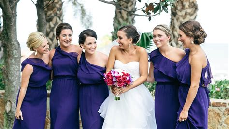 fall dress colors the best bridesmaid s dress colors for fall weddings