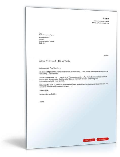 safe bei der bank mieten brief an bank kreditwunsch und terminvereinbarung