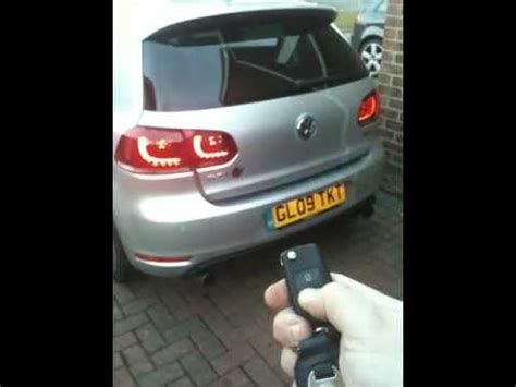 Golf Das Auto Youtube by Mk6 Golf Auto Tailgate Youtube