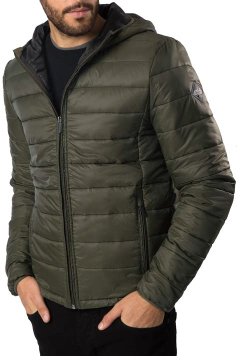 padded jacket threadbare mens padded jacket mongrel lightweight