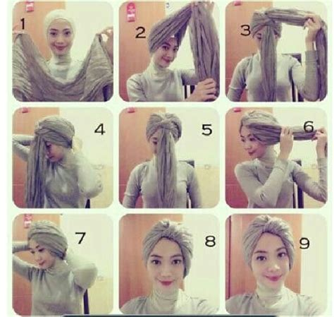 tutorial hijab simple n modern 10 best images about turban tutorials on pinterest