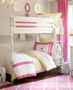 Girly girl bunk beds kids rooms pinterest