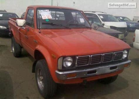 1980 Toyota Tacoma 1980 Toyota Tacoma Vin Rn47014556 Vintage Cars