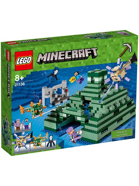 lego minecraft   ocean monument  john lewis
